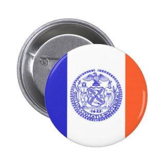 New York City Flag Button