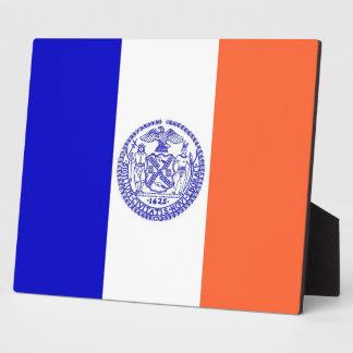 New York City Flag Plaque