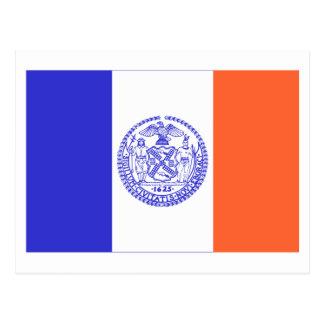 New York City Flag Postcard