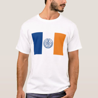 new york city flag united states america country T-Shirt