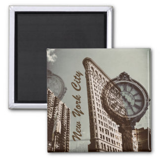 New York City Flat Iron Building Magnet
