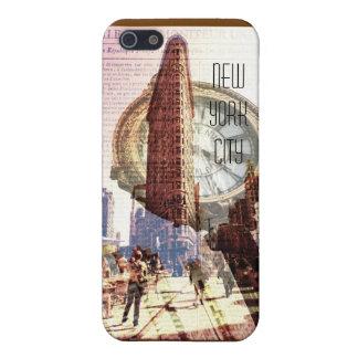 New york City flatiron building and clock iPhone SE/5/5s Case