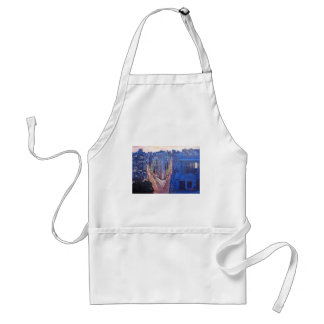 New York City - Flatiron Building At Night Adult Apron