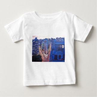 New York City - Flatiron Building At Night Infant T-shirt