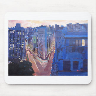 New York City - Flatiron Building At Night Mouse Pad