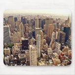 New York City From Above Mouse Pads