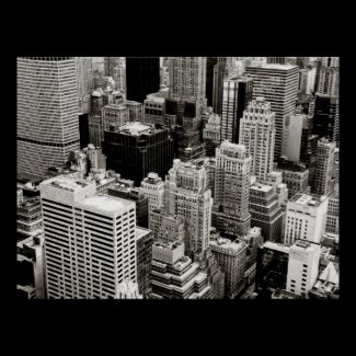 New York City From Above Posters