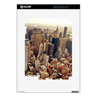 New York City From Above Skin For iPad 2