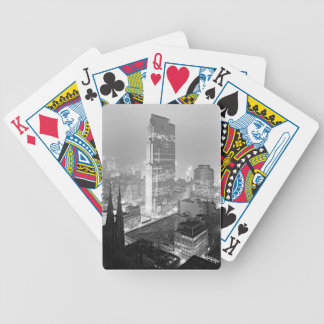 New York City from Old Union Club 1933 Bicycle Playing Cards