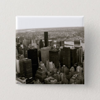 New York City from the Empire State Building Button