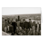 New York City from the Empire State Building Cards