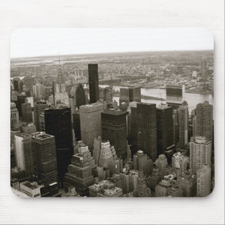 New York City from the Empire State Building Mouse Pad