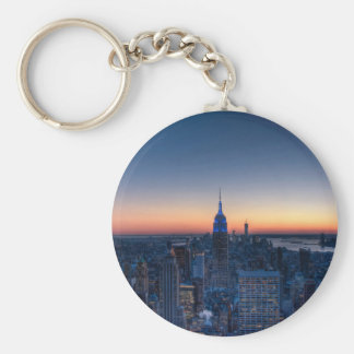 New York City from top of the Rockefeller Centre Keychain