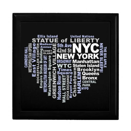 New york city gift box zazzle for Gifts for new yorkers