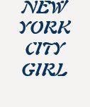 """""""New York City Girl"""" t-shirt"""