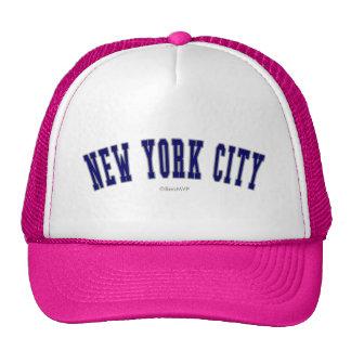 New York City Gorras