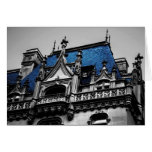 New York City Goth Architecture Photo Card