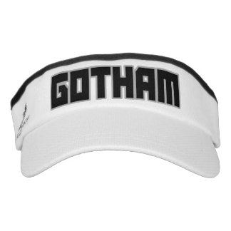 New York City Gotham visor hat