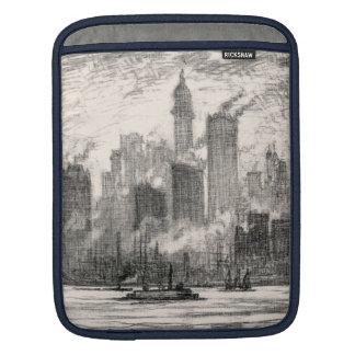 New York City Governor's Island Sketch iPad Sleeve