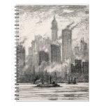 New York City Governor's Island Sketch Notebook
