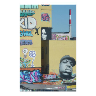 New York City Graffiti Custom Stationery