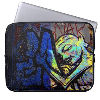 New York City Graffiti Street Photo Computer Sleeve