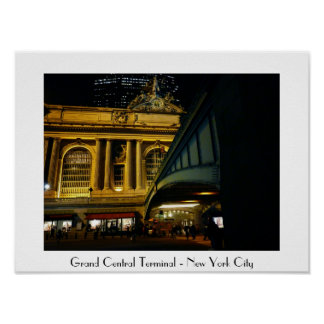 New York City - Grand Central Station Posters