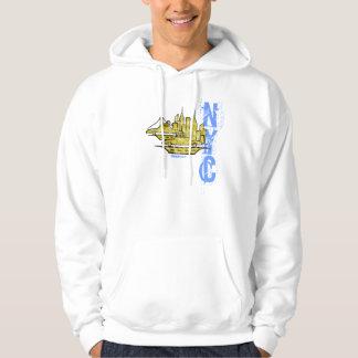 New York City graphic art cool urban hoodie
