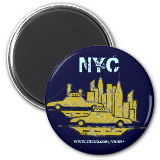 New York City graphic art magnet design