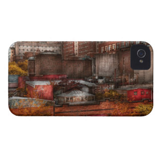 New York - City - Greenwich Village - Abstract cit Case-Mate iPhone 4 Cases