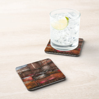 New York - City - Greenwich Village - Abstract cit Coaster