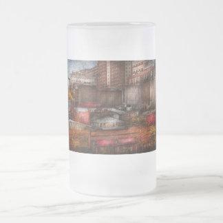 New York - City - Greenwich Village - Abstract cit Coffee Mugs