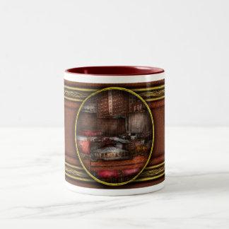 New York - City - Greenwich Village - Abstract cit Coffee Mug