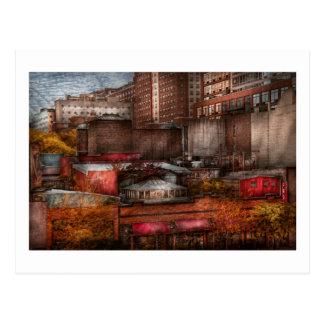 New York - City - Greenwich Village - Abstract cit Postcard