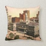 New York City Hall 1900 Pillows
