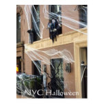 New York City Halloween Postcard