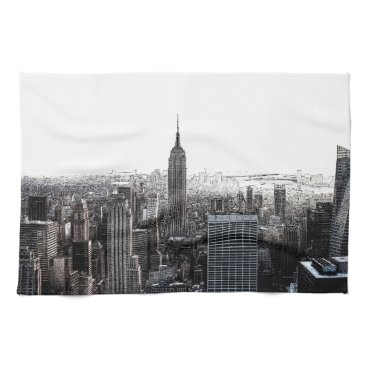 USA Themed New York City Hand Towel