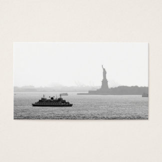 New York City Harbor - Statue of Liberty Business Card