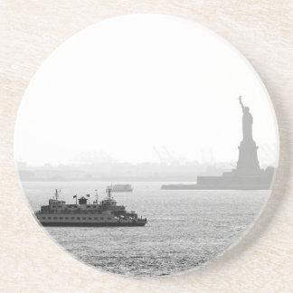 New York City Harbor - Statue of Liberty Coaster
