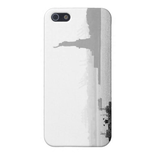 New York City Harbor - Statue of Liberty iPhone 5/5S Cases
