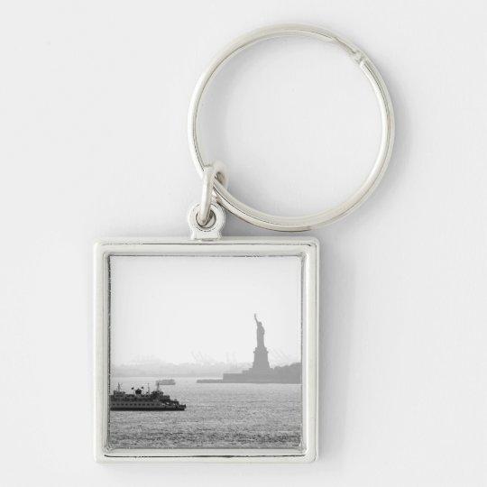 New York City Harbor - Statue of Liberty Keychain