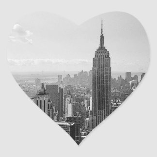 New York City Heart Stickers