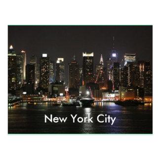 New York City hermoso Postales