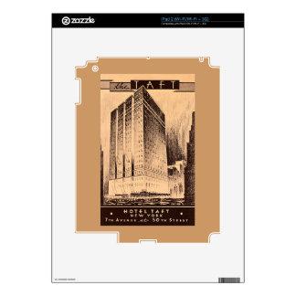 New York City Hotel Taft iPad 2 Skin