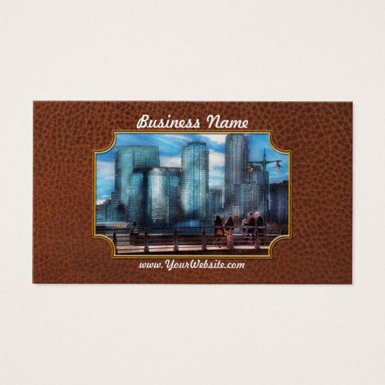 New York - City - Hudson River Park - Downtown Business Card