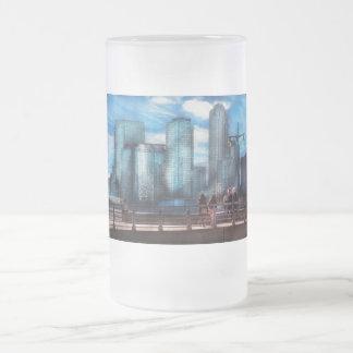 New York - City - Hudson River Park - Downtown Coffee Mugs