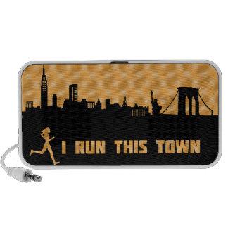 New York City I Run This Town Speaker