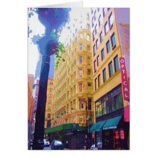 New York City II Tarjeta De Felicitación