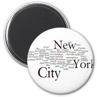 New York City Imanes De Nevera