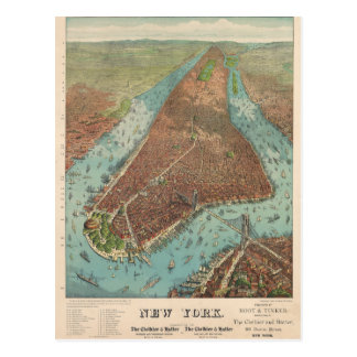 New York City in 1879 by Root and Tinker Post Cards
